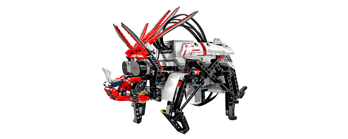 Build Robot Mindstorms LEGO 2019