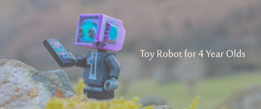 Robotic Toys For 4 Years Old